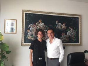 con Giuseppe Gemiti