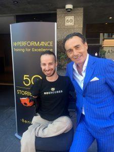 con Massimiliano Sechi 2